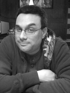 Author Stephen Blackmoore