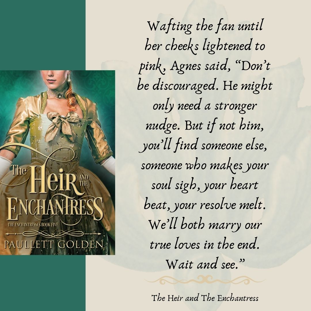 Teaser Graphic The Heir and the Enchantress
