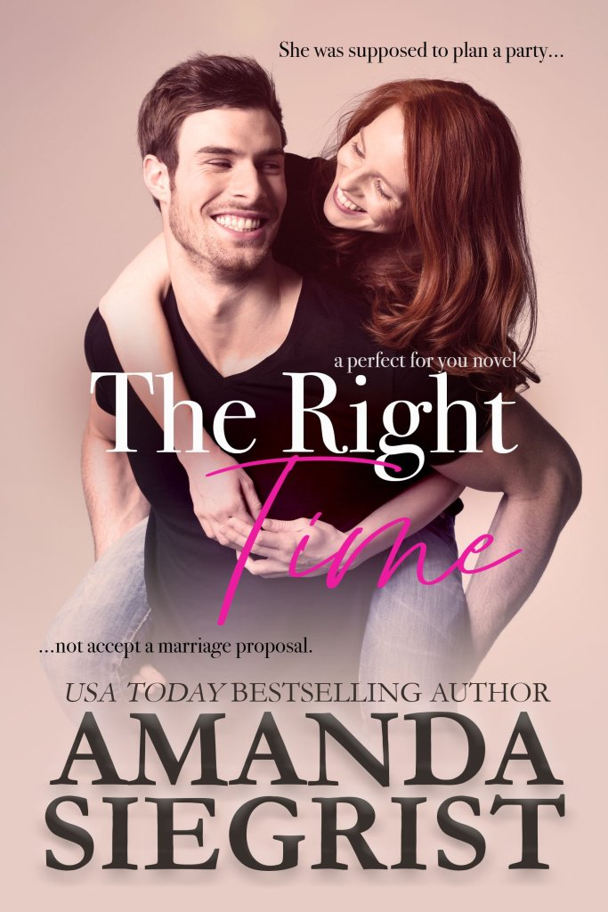 The Right Time by Amanda Siegrist